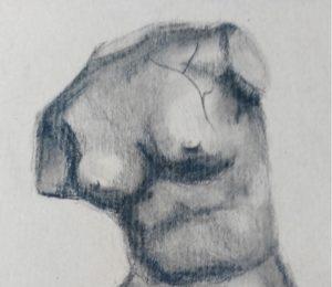 esposizione artistica corpi in luce